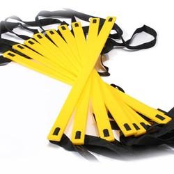 MyXL Duurzaam 9 rung 16.5 Voeten 5 M Agility Ladder voor Voetbal en Voetbal Speed Training Met Draagtas Fitnessapparatuur ladders