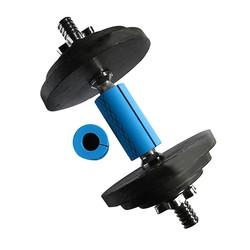 MyXL 1 Paar Barbell Grip Dikke Bar Handgrepen Siliconen antislip Beschermen Pad Pull Up Grips Ondersteuning Blauw Kleur