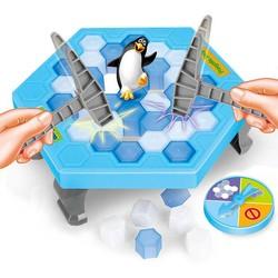 MyXL Pinguïn Val Activeren Grappig Spel Interactieve Ice Breaking Tafel Pinguïn Val Entertainment Speelgoed voor Kids Familie Plezier Game
