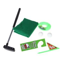 MyXL Potty Putter Toilet Golf Game Mini Golf Set Wc Putting Green Novelty Game Speelgoed Cadeau Voor Mannen en Vrouwen
