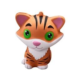 MyXL Squishy Mini CuteTiger Squeeze Trage Stijgende Squishies Bandjes Crème Scented Cure Decor Fun Verbazingwekkende Geschenken Speelgoed voor Kids Kinderen