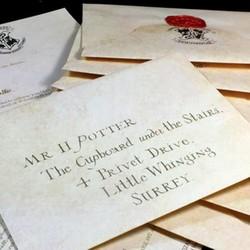 MyXL Harry Pottenbakkers Hogwarts Acceptatie Brief Pakket Vijf Stukken Pak Cosplay Props Voor Volwassen En Kinderen Verjaardagscadeau