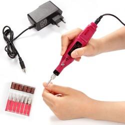 MyXL Poeder Elektrische Manicure Polish Machine Nail Boren Set Manicure Pedicure Cuticle Acryl Gel Remover Gereedschap Kit EU US Plug <br />  MISS ROSE