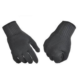 MyXL Zelfverdediging persoonlijke snijbestendige werkhandschoenen Statische Weerstand Handschoen Rvs Draad Veiligheid Werk Anti-Slash Cut Proof FC <br />  ACRDDK