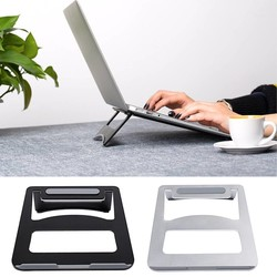 MyXL Draagbare Vouwen Aluminium Notebook Laptop Cooling Pad Holder asus Lenovo Samsung Apple MacBook Pro Air <br />  Besegad