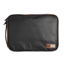 MyXL Waterdichte Canvas Laptop Sleeve Case Tas met Handvat &amp; Zakken voor MacBook Air/Pro Retina 13 Inch/ASUS Zenbook 13/Oppervlak laptop <br />  d-park