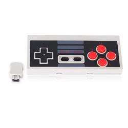 MyXL 2.4 GHz Draadloze 5 M Ontvangen Afstand Gaming Controller Voor NES Mini Console Voor NES Klassieke Editie Gamepad Met Recevier <br />  ShirLin
