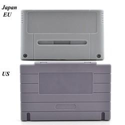 MyXL Game Cartridge Vervanging Plastic Shell Voor SNES game Console card 16bit game card shell (US/JP/EU versie) <br />  xunbeifang