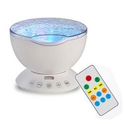 MyXL Hoge Kwaliteit12 LED Licht Projector Oceaan Golf Kid Kamer Kleur Night Lamp Effect Projectie