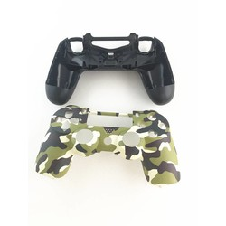 MyXL Groen Camouflage Case Cover Skin Beschermende Camo Vervang Reparatie Behuizing Shell voor Sony Playstation 4 PS4 DualShock 4 Controller