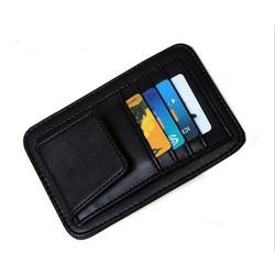 MyXL FreeAuto Zonneklep Zonnebril Brillen Glazen Houder Clip Creditcard Pakket ID Opbergtas Met 3 Kleur