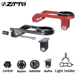 MyXL ZTTO MTB Racefiets Computer Camera Houder Stuur Extension fiets stopwatch GPS houder Voor GARMIN Bryton CATEYE GoPro mount