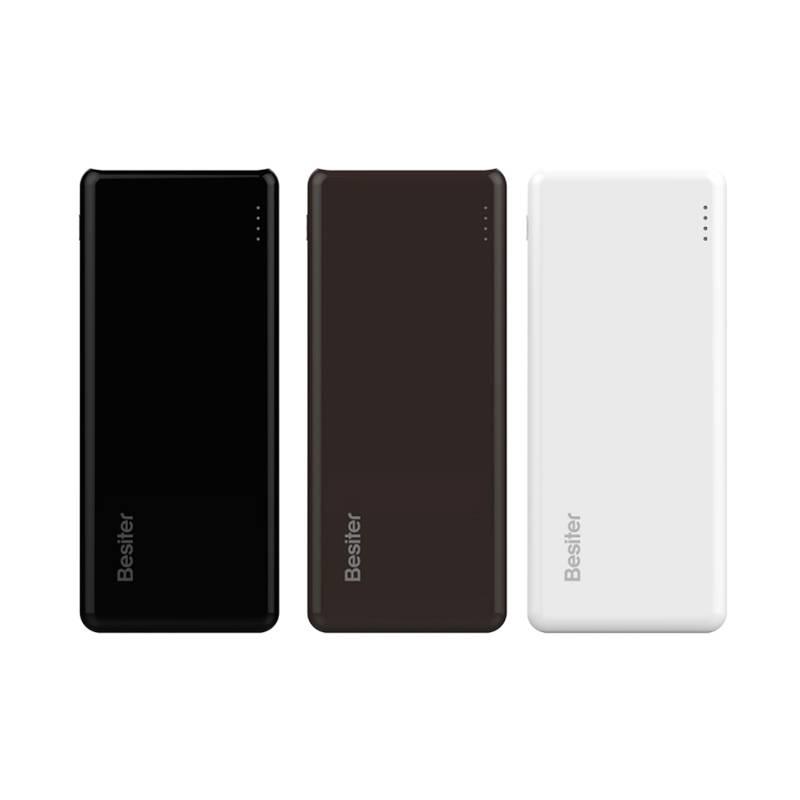 Besiter 10000 mAh Externe Batterij Draagbare Mobiele Backup Bank Opladen Oplader voor Android iPhone