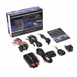 MyXL GPS Tracker TK103B Afstandsbediening GPS103B geo-fence Over Snelheid Alarm Ongeval Alarm Cut Olie Power Kan Voice Monitoring
