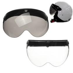 MyXL Mofaner Universele Front Flip Up Vizier Wind Shield Lens Voor Open Gezicht Motorhelmen