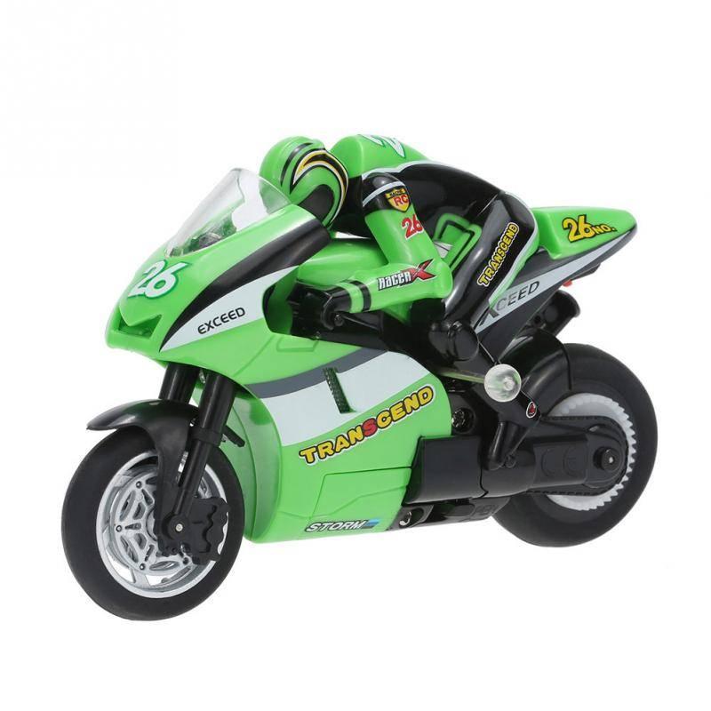 Mini RC Motorfiets Speelgoed 8012 1-20 2.4 GHz Radio Controlled Speelgoed Stunt Auto Voor Kinderen