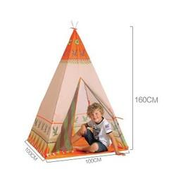 MyXL 2 StijlNatuurlijke Indiase Patroon Kinderen Speelgoed Tent Teepees Veiligheid tipi Draagbare Speelhuisje voor Kinderen Indoor Game Outdoor