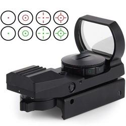 MyXL 11mm/20mm Dot Rail Jacht Softair Zoeker Optische Scope Holografische Rood Dot Zoeker Reflex 4 Patroon Gun Accessoires