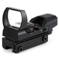MyXL Koop 20mm/11mm Tactical Scope Hunting Optics Riflescope Holografische Red Dot Sight Reflex 4 Reticle Jacht Gun Accessoires