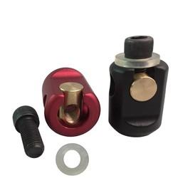 MyXL Boogschieten Quick Disconnect Montagebeugel Quick Detach Removeable Compound Boog Stabilisator Joint voor Outdoor Schieten en Jagen