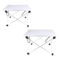 MyXL Draagbare Camping Tafel Outdoor Golden Aluminium Opvouwbaar Opvouwbare Picknicktafel Ultralight Mesa Plegable Voor Wandelen Picknick
