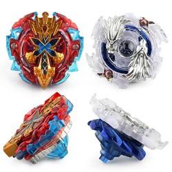 MyXL Vinger Gyro Metalen Plastic Fusion 4D Spinning Snelheid Beyblades Spin Top Toy Set, Bey Blade Spinner met Launcher kinderen Speelgoed