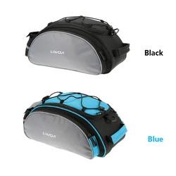 MyXL Lixada Fietstas 13L Bike Bagagedrager Tas Fiets Plank Utility 10 ~ 20L Pocket Schoudertas Pack Rijden Levert 2 Kleuren