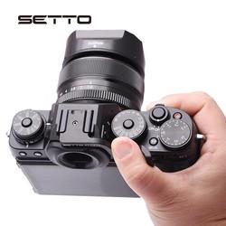 MyXL SETTO voor Duim Grip Gemaakt voor Fujifilm Fuji XT1 X-T1 XT2 XT-2 Camera