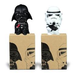 MyXL Star Wars Darth vader Stormtrooper PVC Model Action Figure Black Warrior Clone Trooper Speelgoed Originele Doos 2 stks