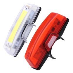 MyXL 100 lumen USB Oplaadbare Fiets Voor Achter LED Achterlichten Waterdicht 6 Modi COB Waterbestendig Fietsverlichting