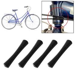 MyXL 4 Stks/partij Fiets Kabel Rubber Protector Mouw Voor Shift Remleiding Pijp 2 Kleuren Ultralight Bike Frame Kabel Gidsen Bescherming