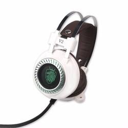 MyXL Stereo V2 Oortelefoon Gaming Headset gamer LED Licht Hi-Fi Hoofdtelefoon MP3 met microfoon voor computer PC fone de ouvido