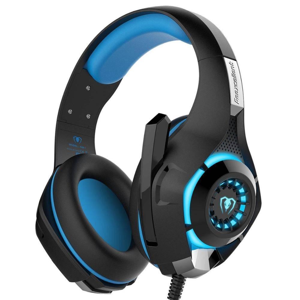 Hoofdtelefoon met Microfoon Gaming Headset Voor PC PS4 Xbox Een Mobiele gamer oortelefoon kabel met