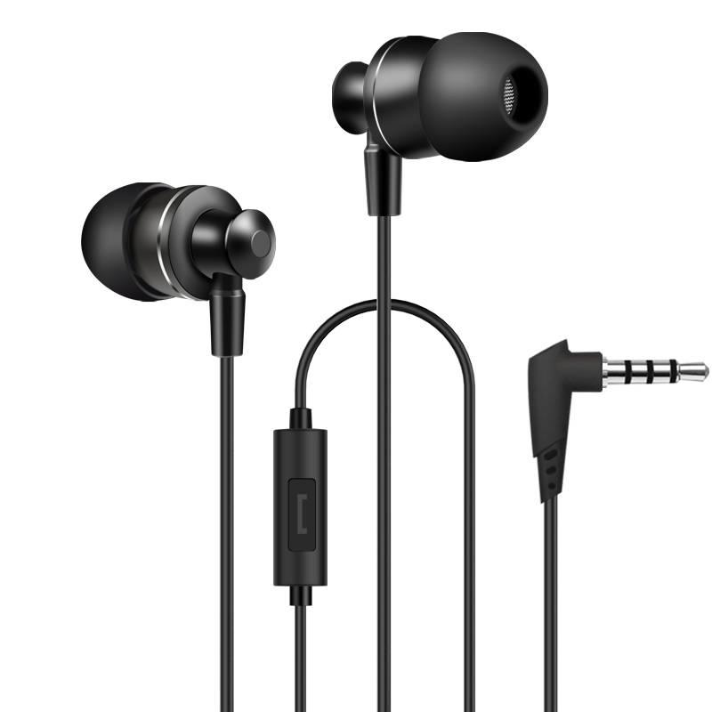 MyXL Originele Oordopjes PTM M3 Metalen Oordopjes HoofdtelefoonHeadset met Microfoon PC fone de ouvido