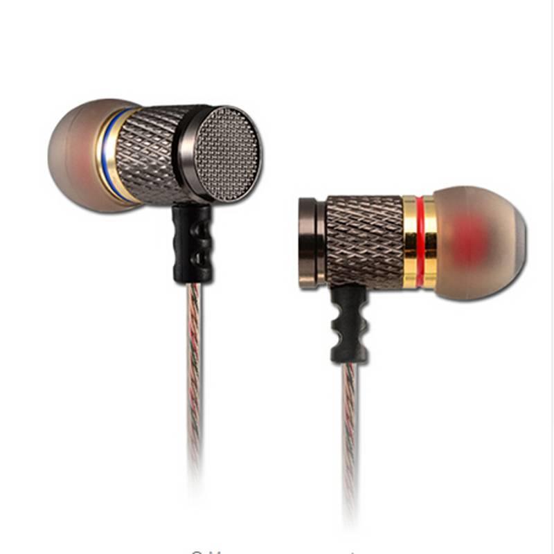 MyXL KZ ED2 Oortelefoon In Ear Headset HiFi Koptelefoon Voor xiao Mi Voor Ipone Wearable Apparaten Draagbare Audio En Video Apparatuur