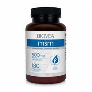 Biovea MSM 500mg 180 Vegetarische Capsules