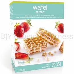 Lignavita Aardbeien Wafels