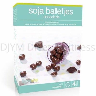 Lignavita Sojaballetjes Chocolade