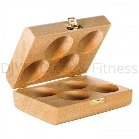 Thera-Band Houten doosje voor 4 handtrainers