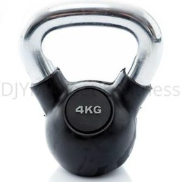 Muscle Power Kettlebell rubber/chr 4 - 40 kg