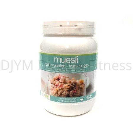 Lignavita Lignavita Pot Muesli rode vruchten 450 gram