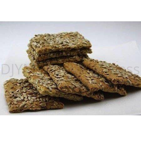 Crackers met zonnebloempitten 6 stuks