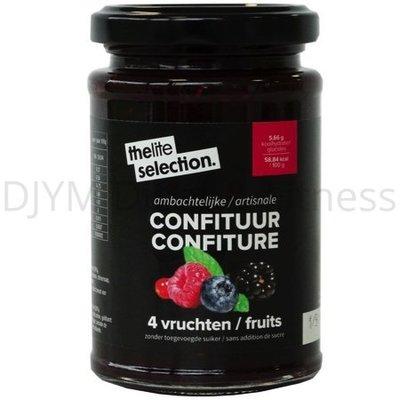 Lignavita TheLiteSelection 4 vruchtenconfituur