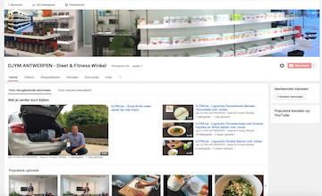 Wij koken voor u op YouTube!