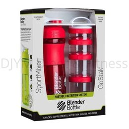 Blender Bottle ComboPak Rood 820 ml