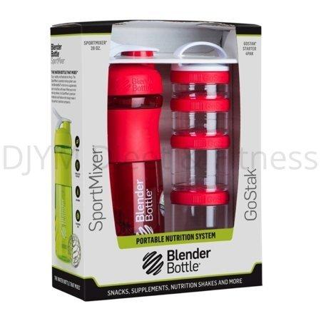 Blender Bottle Blender Bottle ComboPak Rood 820 ml
