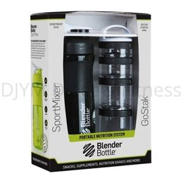Blender Bottle ComboPak Zwart 820 ml