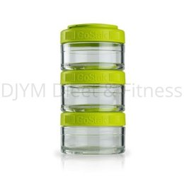 Blender Bottle GoStak Groen 3x60 ml