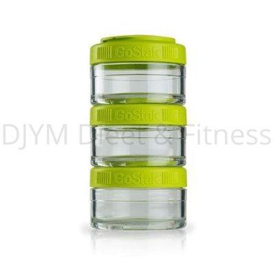 Blender Bottle GoStak Groen 3x60 ml