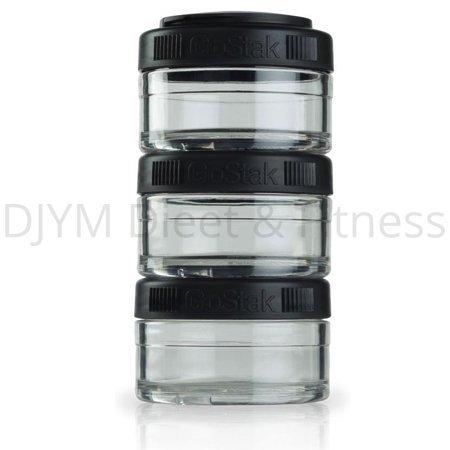 Blender Bottle Blender Bottle Go Stack Zwart 3x60 ml